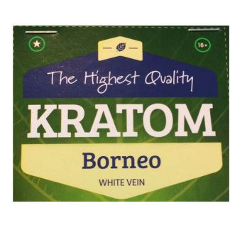 Borneo white vein kratom