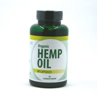 Hennep olie capsules