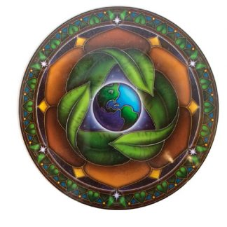 Mother-earth-raam-auto-Sticker