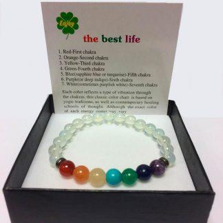 Chakra Jade bijuterii brățară