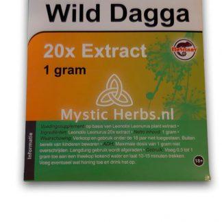 Wild dagga 20x extract kopen