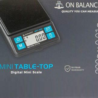 On balance precisie weegschaal