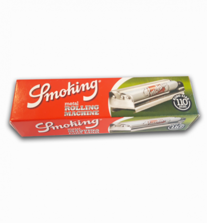 Rolling machine smoking